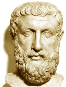 Busto de Parmenides - Wikimedia Commons