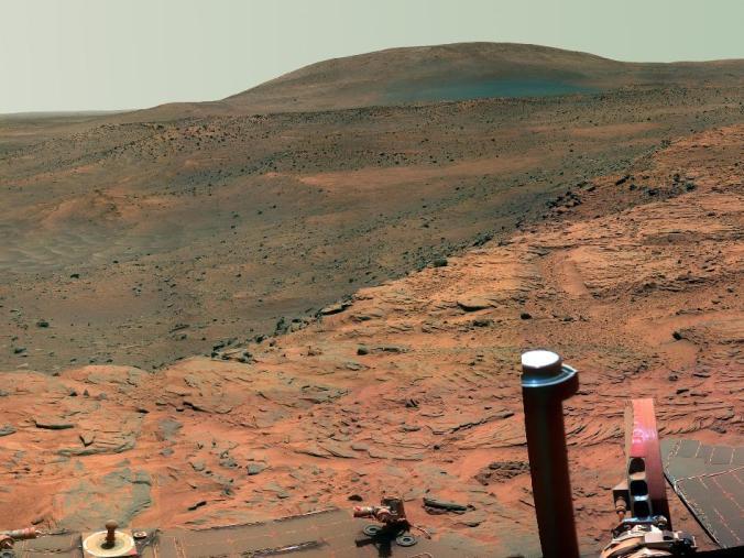 Fotografia as Superfície de Marte - Sonda Spirit - 2007 - Crédito: NASA